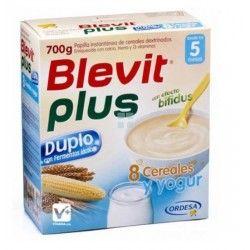 BLEVIT PLUS DUPLO 8 CEREALES CON NATILLA 600 GR