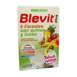 BLEVIT PLUS DUPLO 8 CEREALES QUINOA Y FRUTAS 300 GR