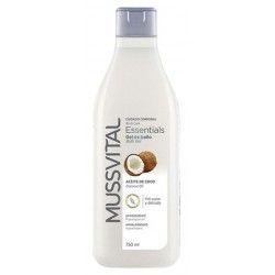 Mussvital Essentials Gel de Baño con Aceite de Coco 750 ml