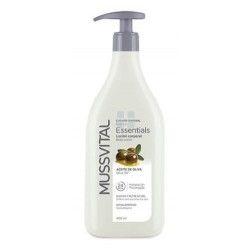 Mussvital Essentials Locion Corporal de Aceite de Oliva 400 ml
