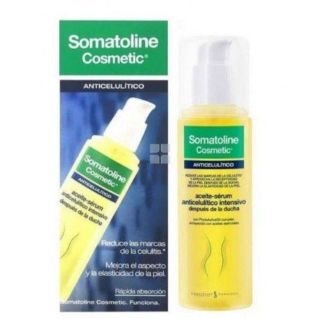 Somatoline Cosmetic Aceite Serum Anticelulitico 125 ml