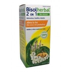 Bisolherbal 2 en 1 Sin Azucar Tos Seca y Productiva 120 ml