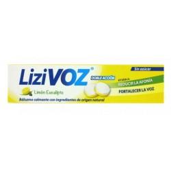 Lizivoz Limon y Eucalipto 18 Pastillas para Chupar