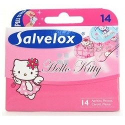 Salvelox Tiritas Hello Kitty 14 Apositos