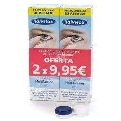 Salvelox Solucion Lentes de Contacto Blandas Pack 2 uds 360 ml