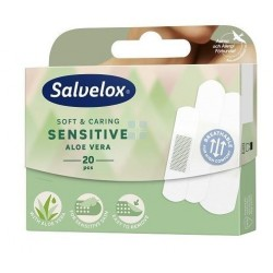 Salvelox Tiritas Sensitive Aloe Vera 20 Apositos