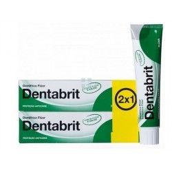 Dentabrit Pasta Dental Fluor Pack 2 x 1 125 gr