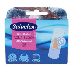 Salvelox Tiritas Cura Rapid Aquablock 18 Apositos
