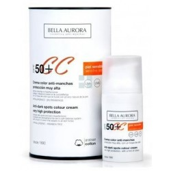 Bella Aurora Color Antimanchas SPF50+ Piel Sensible 30 ml