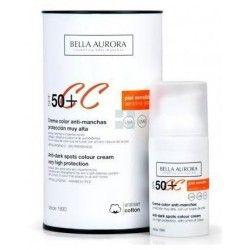 BELLA AURORA COLOR ANTIMANCHAS SPF50+ PIEL SENSIBLE 30 ML