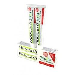 Fluocaril Junior 6 - 12 Años Sabor Frutos Rojos 2 x 75 ml
