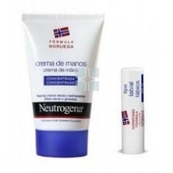 Neutrogena Crema de Manos Concentrada + Labial + Locion Hidratacion