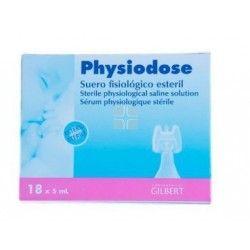 Physiodose Suero Fisiologico Monodosis 5 ml 18 uds
