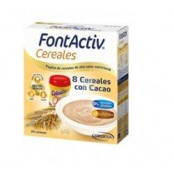 FONTACTIV 8 CEREALES + CACAO 600 GR