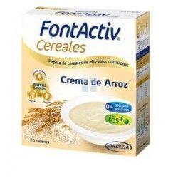FONTACTIV 8 CEREALES + CREMA DE ARROZ 600 GR