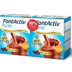 Fontactiv Forte Pack Descuento 2º unidad 30% 14 Sobres Chocolate