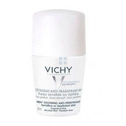 Vichy Desodorante Antitranspirante 48H Piel Sensible Roll -  On 50 ml