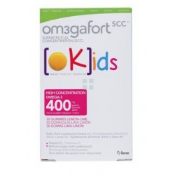 OM3GAFORT KIDS OMEGAFORT 30 GOMINOLAS