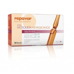 Repavar Revitalizante Rosa Mosqueta-Metaglicanos Cell Renew 30 Ampollas