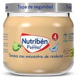 Nutriben Potito Introduccion Ternera con Menestra de Verdura 120 gr