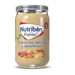 Nutriben Potito Ternera con Patatas y Zanahorias 235 gr