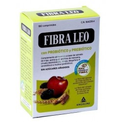 Fibra Leo Prebiotico y Probiotico 180 Comprimidos