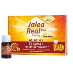 Juanola Jalea Real Energy Plus 14 Ampollas Bebibles