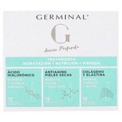 Germinal Accion Profunda Tratamiento Hidratacion + Nutrición + Firmeza 36 Ampollas