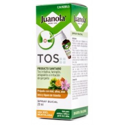 JUANOLA TOS SPRAY BUCAL SABOR MIEL MENTOLADA 20 ML