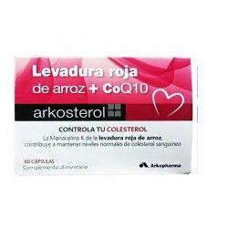 Arkosterol Levadura Roja de Arroz + Coq10 60 cápsulas