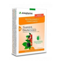 Arkocápsulas Complex Guarana + Eleuterococo 40 cápsulas Arkopharma