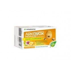 Arkopharma Arkovox Propolis y Vitamina C Sabor Miel-Limón 24 Comprimidos