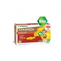 Arkoreal Jalea Real Fresca Bio 1500 mg Sin Azucar 20 Ampollas