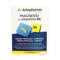 Arkopharma Magnesio 73,5 mg 30 cápsulas