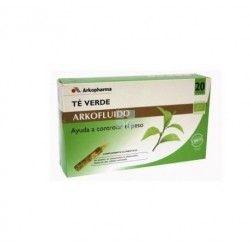 Arkopharma Arkofluido Te Verde 20 Ampollas x 15 ml