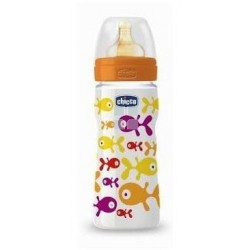 Chicco Biberon +2M Evolution 0% Bpa Boca Ancha Latex Flujo Regulable 250 ml