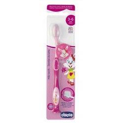 Chicco Cepillo Dental Rosa 3-6 Años