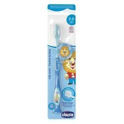 Chicco Cepillo Dental Azul 3-6 Años