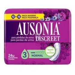 Ausonia Discreet Compresas Normal 24 uds