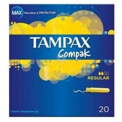 TAMPAX COMPAK REGULAR 100% ALGODON 22 UNIDADES