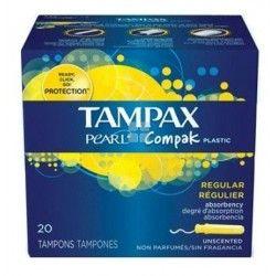 TAMPAX COMPACK PEARL REGULAR 16 UNIDADES