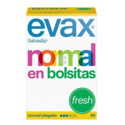 EVAX SALVASLIP NORMAL FRESH 40 UNIDADES