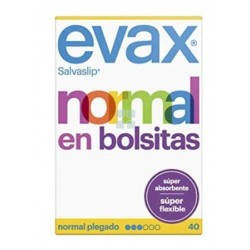 EVAX SALVASLIP FLEXIBLES NORMAL 40 UNIDADES