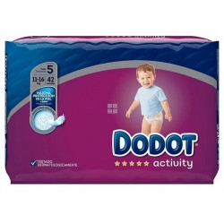 DODOT ACTIVITY VALUE TALLA 5 (11 - 17 KG) 42 UNIDADES
