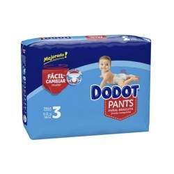 DODOT PANTS MAINLINE CARRY PACK TALLA 3 36 UNIDADES