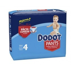 DODOT PANTS MAINLINE CARRY PACK TALLA 4 33 UNIDADES