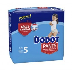 DODOT PANTS MAINLINE CARRY PACK TALLA 5 30 UNIDADES