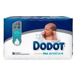 Dodot Pro Sensitive Talla 1 2 - 5 Kg 38 uds
