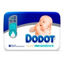 Dodot Pro Sensitive Talla 2  4 - 8 Kg 36 uds