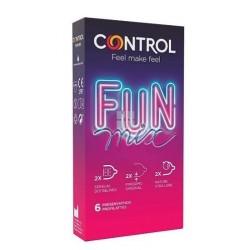 Control Preservativo Fun Mix 6 uds